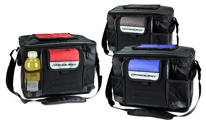 Heavy Duty Coolers : Omniquest heavy duty can cooler bag groupon