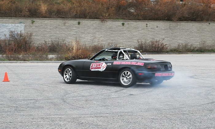 Stunt School USA - Tucson Speedway: Stunt Class with 7, 15, or 25 Minutes Behind the Wheel at Stunt School USA (Half Off)