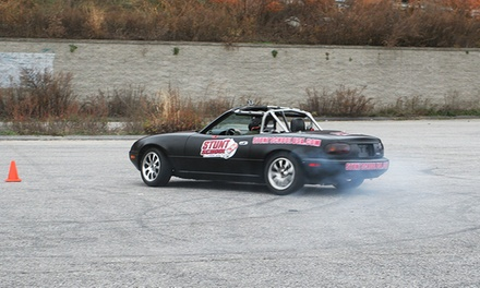 Stunt Class with 7, 15, or 25 Minutes Behind the Wheel at Stunt School USA (Half Off)