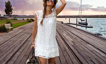 1 ou 2 robes Lou de la marque Balotti, en dentelle, légères et glamours