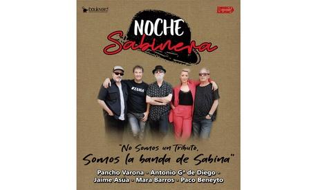 1 entrada general para la 'Noche Sabinera, la auténtica banda de Sabina' en Teatro Alcalá con SOM Produce