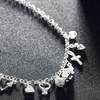Charm Necklace made with Swarovski Crystals by Jewelry Elements