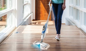 Shark Sk410 Steam & Spray Mop With Swivel Steer And 99.9% Sanitization