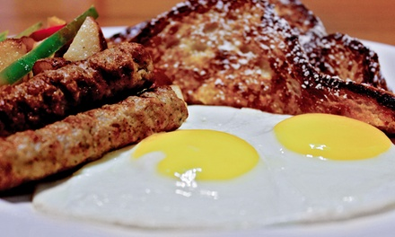 Upscale Weekend Brunch for Two or Four or Weekday Breakfast for Two at Primetime Restaurant & Bar (Up to 50% Off)