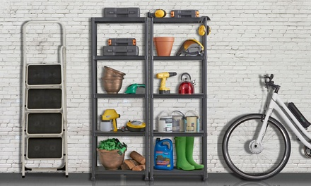 One from £18.98 or Two from £34.98 Plastic Shelving Units