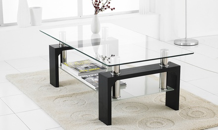 Glass Coffee Tables in Choice of Colour and Design With Free Delivery