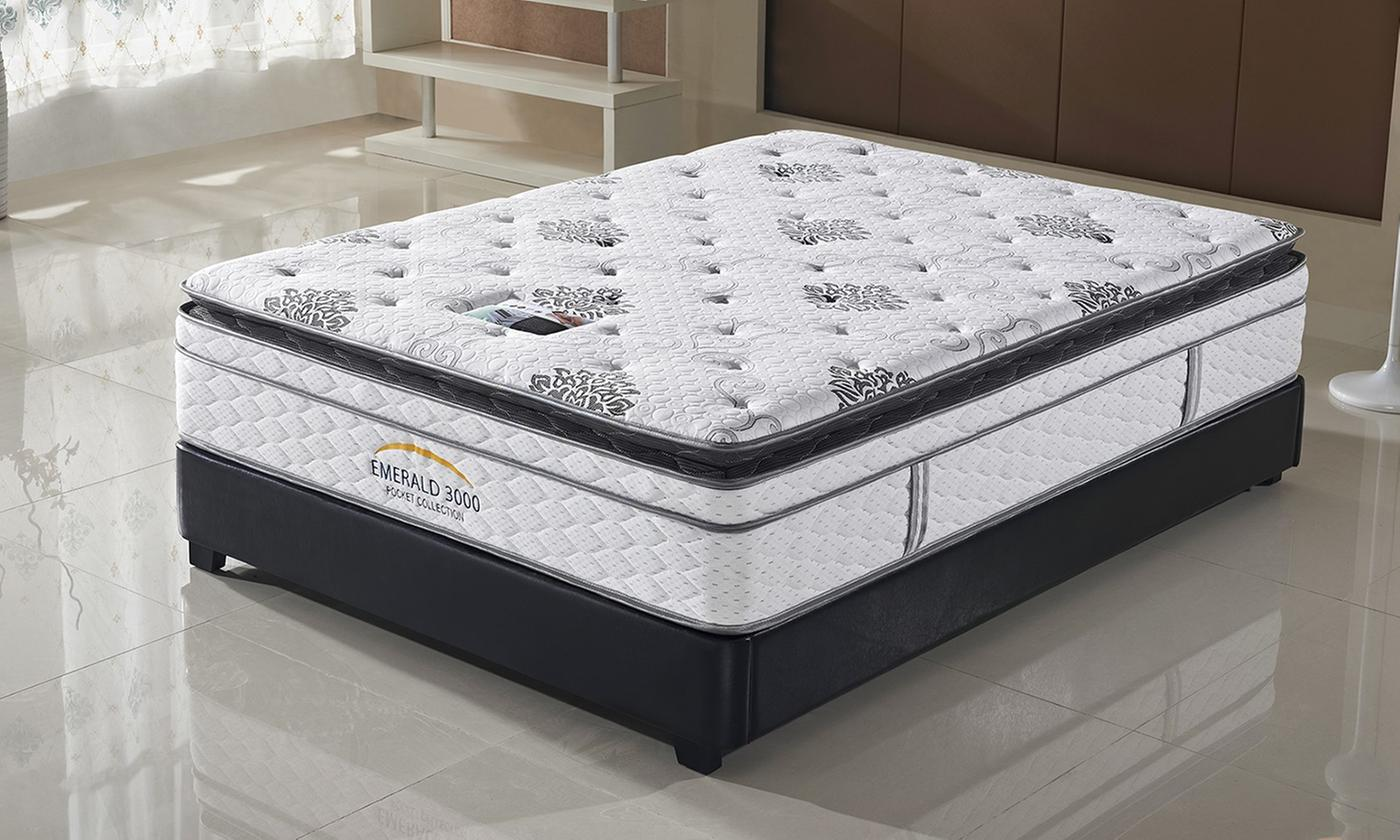 emerald 3000 pillow top mattress