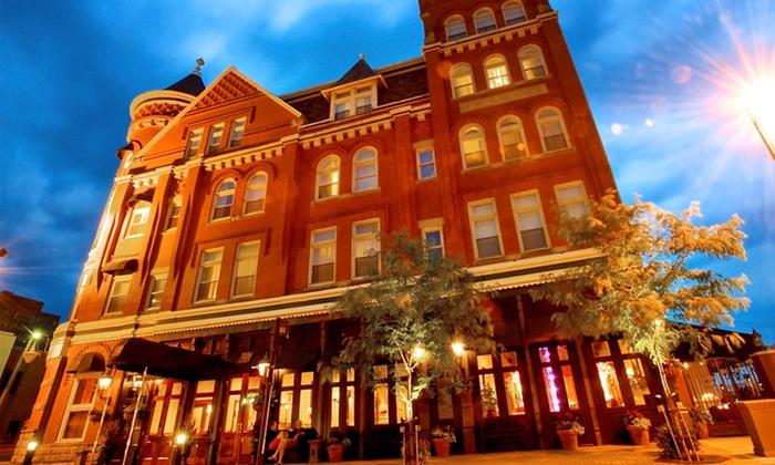 The Blennerhassett Hotel - Parkersburg: 1-Night Stay at The Blennerhassett Hotel in Parkersburg, WV