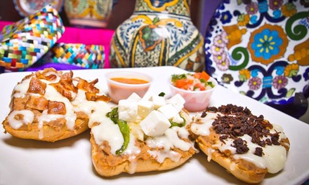 $11 for $20 Worth of Mexican Cuisine for Two at Vida Mia