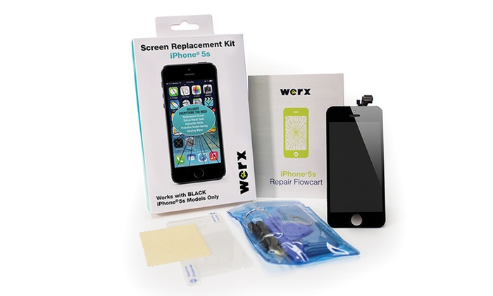 iphone 5s screen kit werx iphone screen replacement groupon goods 14861