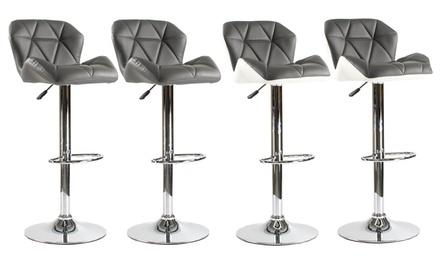 lot de 2 tabourets de bar hexa groupon. Black Bedroom Furniture Sets. Home Design Ideas