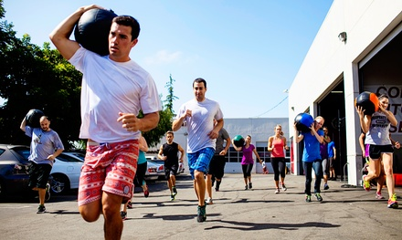One-Month Membership at Left Coast CrossFit (Up to 68% Off). Two Options Available.