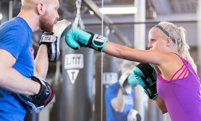image for Three or Six Fitness Classes at TITLE <strong>Boxing</strong> Club (Up to 70% Off)