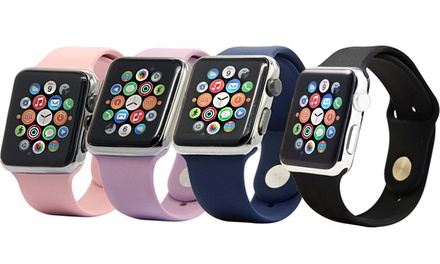 $9.95 for One or $17.95 for Two: Silicone Sport Replacement Bands for Apple Watch