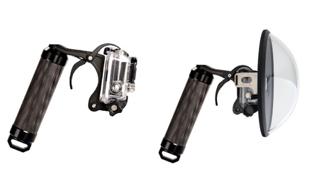 FreeWell Pistol Trigger (AED 219) with Dome (AED 599)for GoPro and Action Cameras (29% Off)