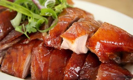 8-Course Peking Duck Banquet with Wine: 2 ($59), 4 ($118) or 8 Ppl ($228) at Zilver Restaurant, Bondi (Up to $524 Value)