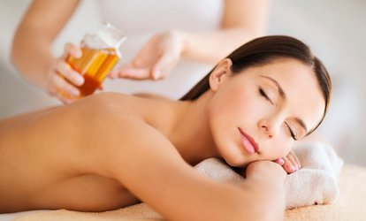Back, Neck and Shoulder Massage or a Full-Body Massage with Aromatic Oils at Depilex Health and Beauty (Up to 59% Off)