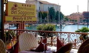 Bel Soggiorno Spa: Percorso Spa di coppia con area all'aperto e in più trattamenti viso o corpo sul Lago di Garda (sconto fino a 65%)