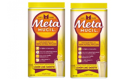 Metamucil Lemon Lime 673g Powder: TwoPack $17 or FourPack $27 Don't Pay up to $119.96