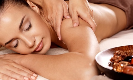 $39 Hr Deep Tissue Massage + Hot Stones, or Foot Care Pkg + NS Massage, Spring Beauty & Therapy Up to $100 Value