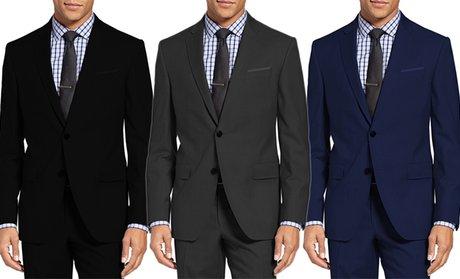 Mundo Uomo Men's Slim-Fit Sharkskin Suits (2-Piece)
