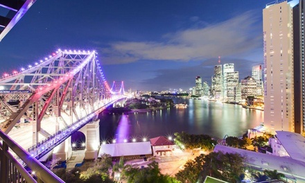 Brisbane: 1 Night for 2 People with Wine and Late Check-Out at Oakwood Hotel & Apartments Brisbane