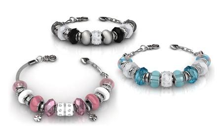 Bracelets Charms ornés de cristaux Swarovski®