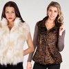 Faux Frenzi Fur Vests