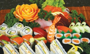 Tatakai Jansen Park: 36-Piece Sushi Platter from R184 for Two at Tatakai Jansen Park (Up to 46%)