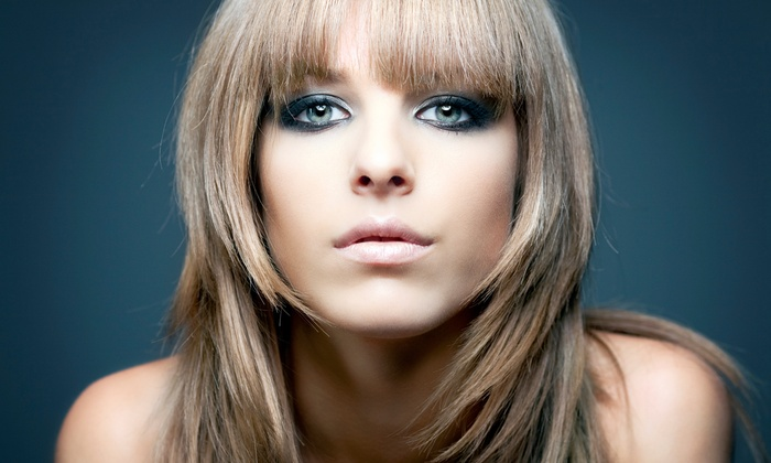 Ellen Rubel at La Perle - La Perle: Haircut and Deep-Conditioning Treatment with Option for Partial Highlights from Ellen Rubel at La Perle (Up to 67% Off)