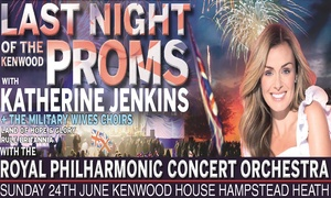 GCE Live: Katherine Jenkins plus special guests The Military Wives Choir plus the RPCO, 24 June, Kenwood House (Up to 20% Off)