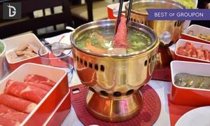 DineDonG: Fondue chinoise à volonté en buffet pour 2 ou 4 personnes dès 34,90 € au restaurant DineDonG