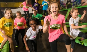 Up to 43% Off Jump Passes and More at Launch Trampoline Park at Launch Trampoline Park - Newark, plus 6.0% Cash Back from Ebates.