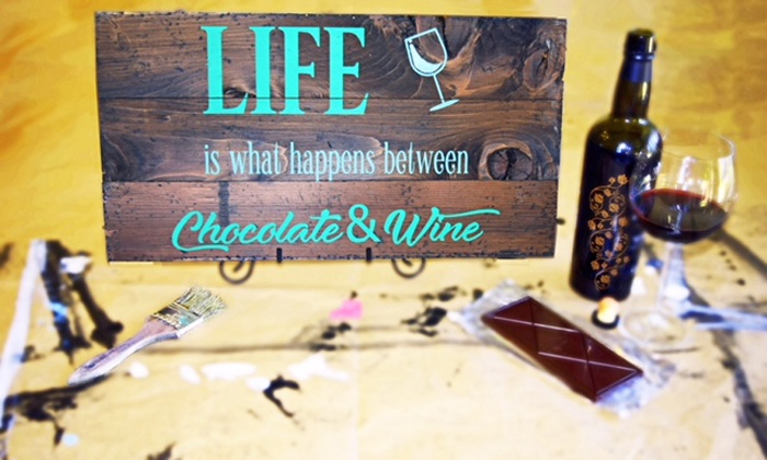 Stencil & Co. - Old Sugar Mill: $60 for Workshop and Admission to Port, Wine & Chocolate Lover's Weekend from Stencil and Co ($78.50 Value)