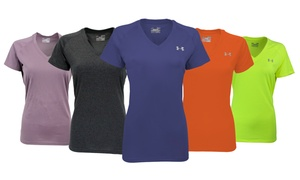 Under Armour Women's UA Tech Active V-Neck T-Shirt