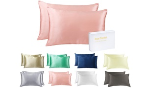 Two Mulberry Silk Pillowcases