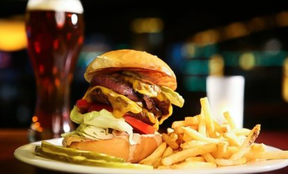 Burger and Beer for Two or Four at The Red Lion (Up to 32% Off)