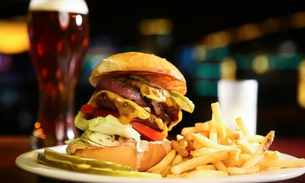 Burger and Beer for Two or Four at The Red Lion