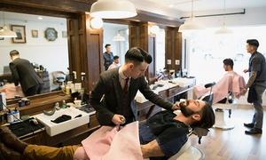 Dh Barber Shop: Una o 3 sedute di cura e taglio per capelli uomo più rituale antica barberia da Dh Barber Shop (sconto fino a 72%)