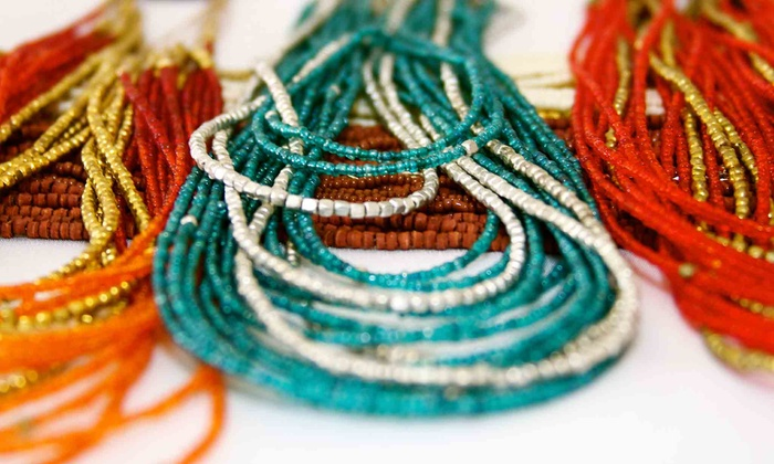 The Henna Shoppe - Henna Shoppe: $22 for $44 Worth of Handmade Necklaces and Earrings at The Henna Shoppe