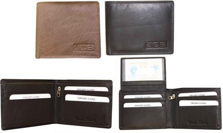 JCB Leather Wallet
