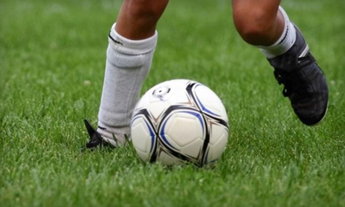 Golden Boot Soccer - Multiple Locations: Summer Youth Soccer Camp with Golden Boot Soccer. Choose From Three Options.