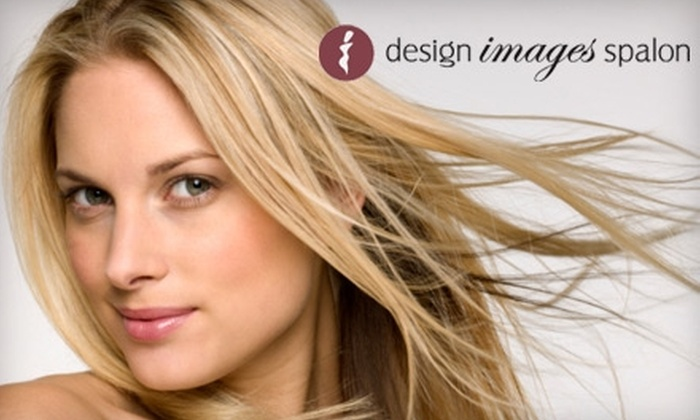 Design Images Spalon - New Albany: $32 for Mani-Pedi or Cut and Color at Design Images Spalon (Up to $70 Value)