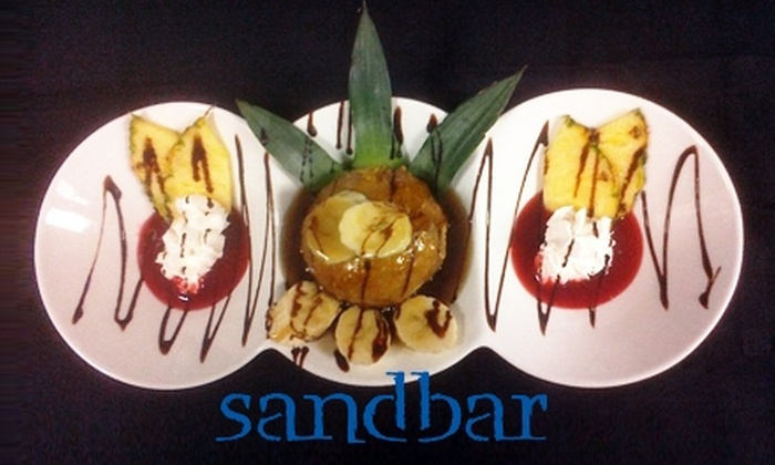 Sandbar Mexican Grill - Multiple Locations: $10 for $20 Worth of Mexican Cuisine and Drinks at Sandbar Mexican Grill