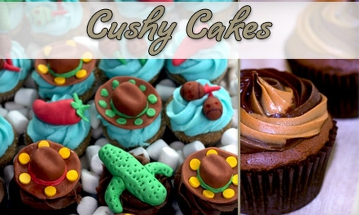 Cushy Cakes - Aventura: $10 for One Dozen Cupcakes from Cushy Cakes
