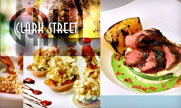 Clark Street Grill - Downtown St. Louis: $18 for $40 Worth of Contemporary American Cuisine and Drinks at Clark Street Grill