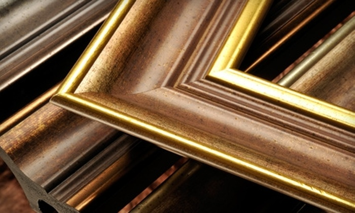 Picture Works - Wilmington: $55 for $125 Worth of Customized Framing at Picture Works in Wilmington