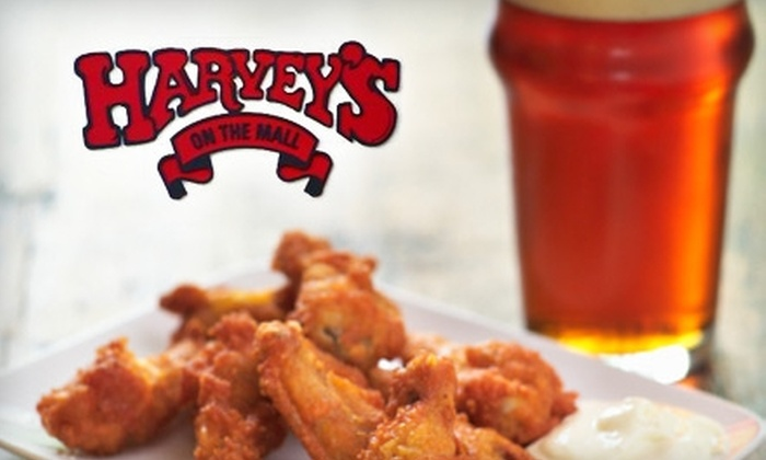 Harvey's on the Mall - Central Business District: $10 for $20 Worth of American Pub Fare at Harvey's on the Mall