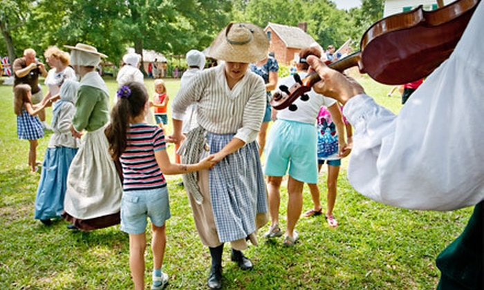 Culture & Heritage Museums - McConnells: Family Farm Day with Optional Gift Shop Credit at Historic Brattonsville and Cultural & Heritage Museums (Up to 56% Off)