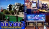 Ben and Ari's - Fishers: $15 for Four Games of Mini-Golf or Mini-Bowling, 25 Arcade Tokens, a Large One-Topping Pizza, and a Pitcher of Soda at Ben and Ari's